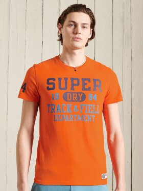 Superdry - TRACK & FIELD GRAPHIC TEE 220