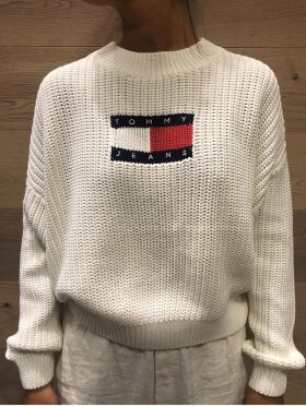 Tommy Jeans - tjw center flag sweat
