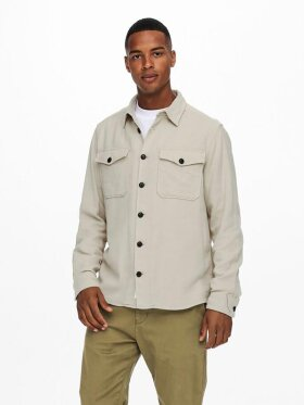 Only and Sons - onsmilo life solid overshirt