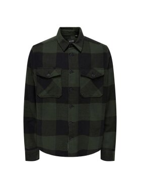Only and Sons - Onsmilo life ls check shirt