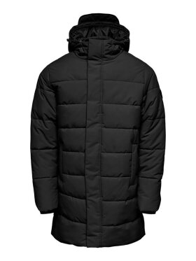 Only and Sons - ONSCARL LONG QUILTED COAT OTW
